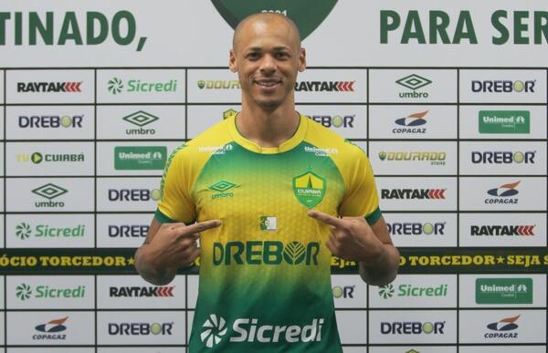 Série B: Para repor saídas, Cuiabá anuncia contratação de zagueiro no retorno aos treinos